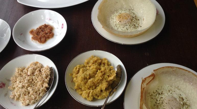 gastronomia de sri lanka