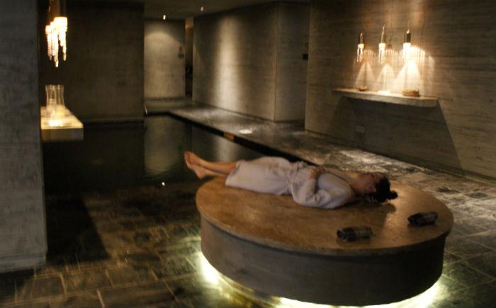 Um banho turco na Argentina. Na Argentina?